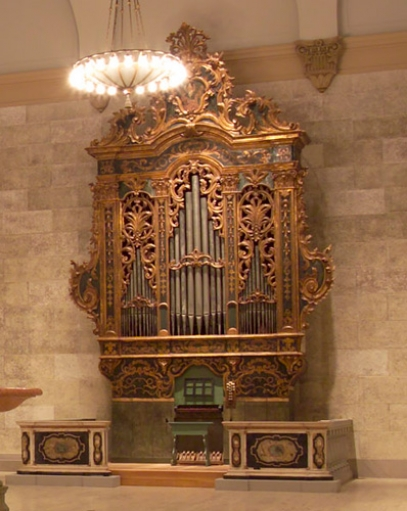 Rochester N. Y. Memorial Art Gallery, The Eastman Italian Baroque Organ