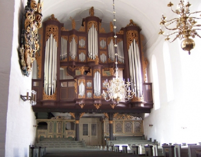 Orgel in Stade / Ss. Cosmae et Damiani